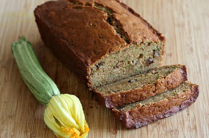 Zucchini Spice Bread (Made With Butter)