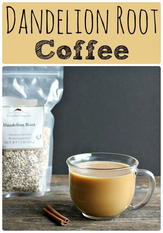 Roasted Dandelion Root Coffee with Chicory Root & Cinnamon