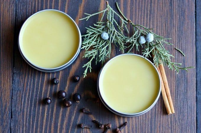 Juniper Spice Beard Balm Recipe: Homemade Natural Beard Care