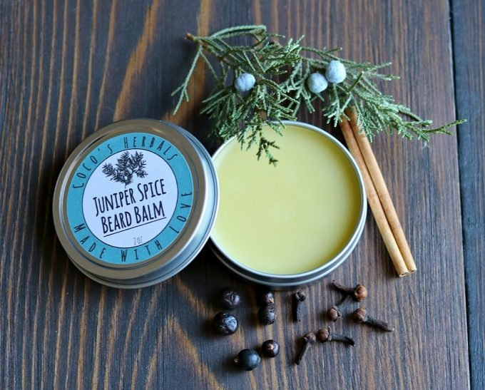 Juniper Spice Beard Balm Recipe: Homemade Natural Beard Care