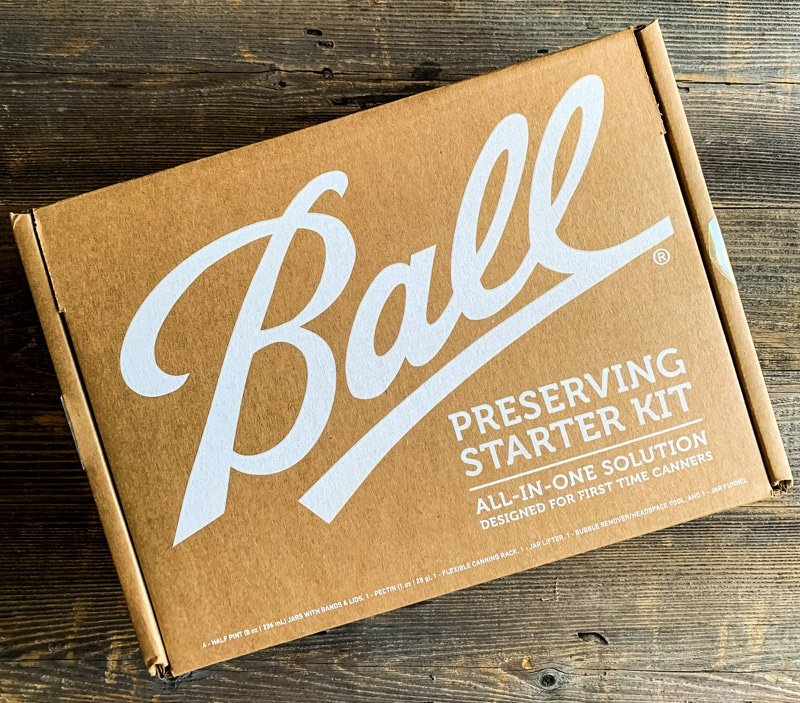 a box with the ball preserving starter kit