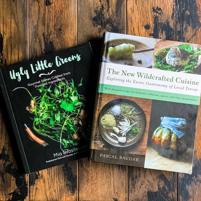 ugly little greens and the new wildcrafted cuisine