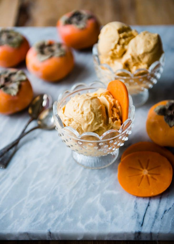 persimmon recipes ice cream