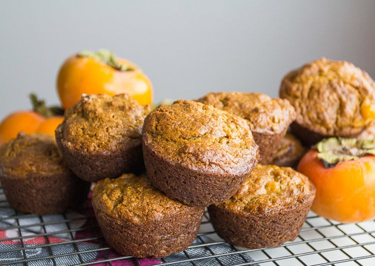 persimmon recipes muffins