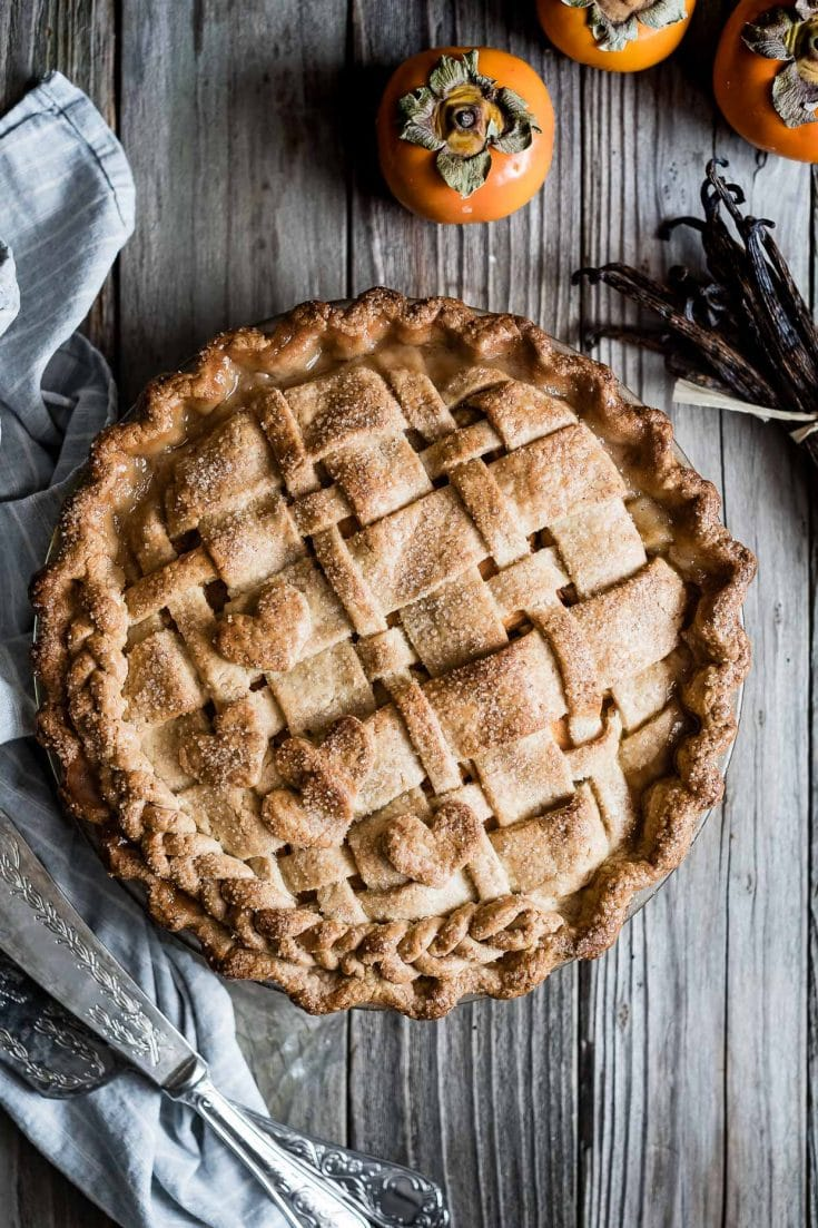 persimmon recipes pear pie