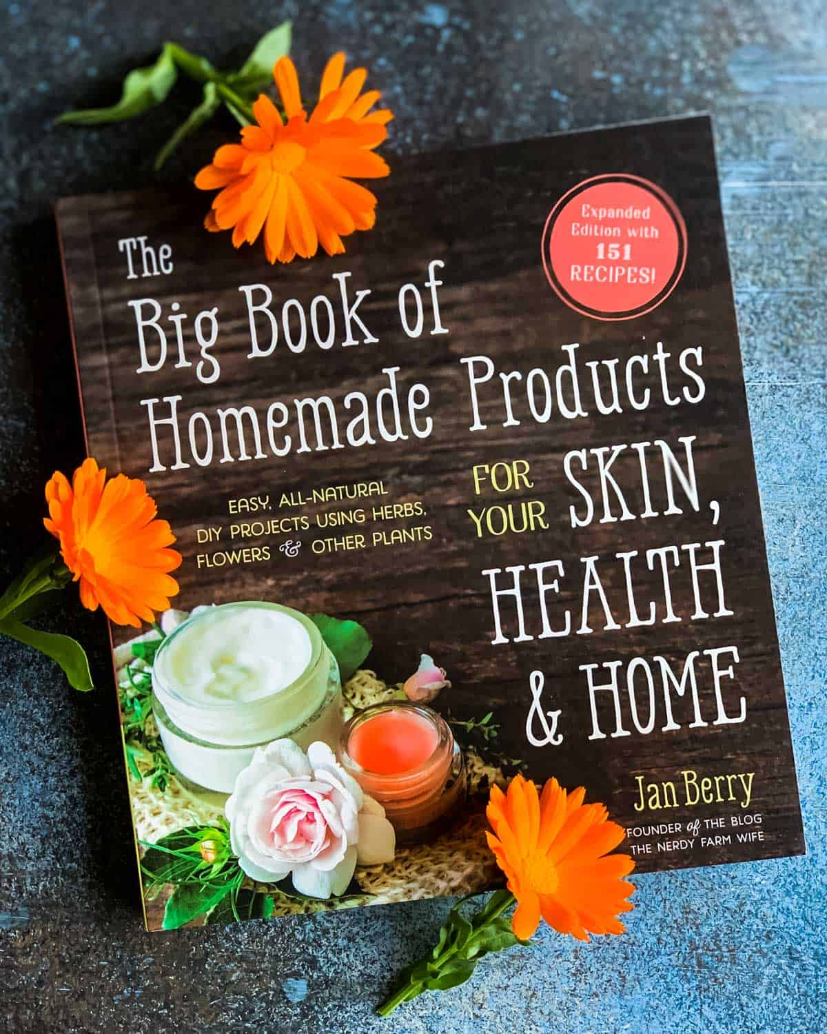 the big book of homemade products for you skin, health and home
