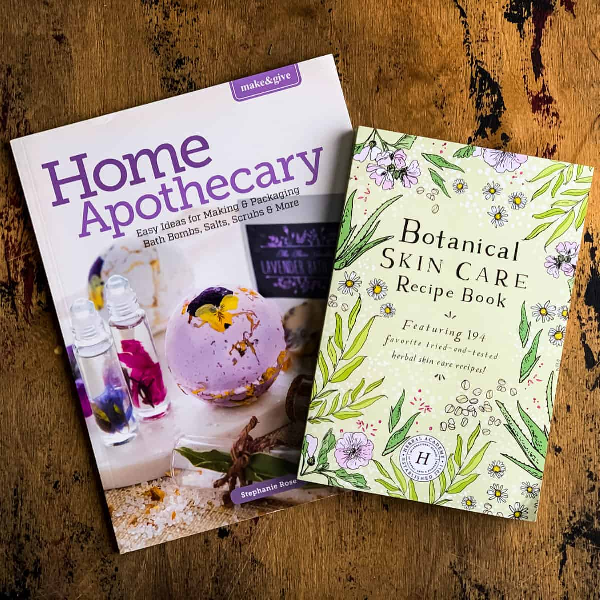 make and give home apothecary and botanical skin care recipe book