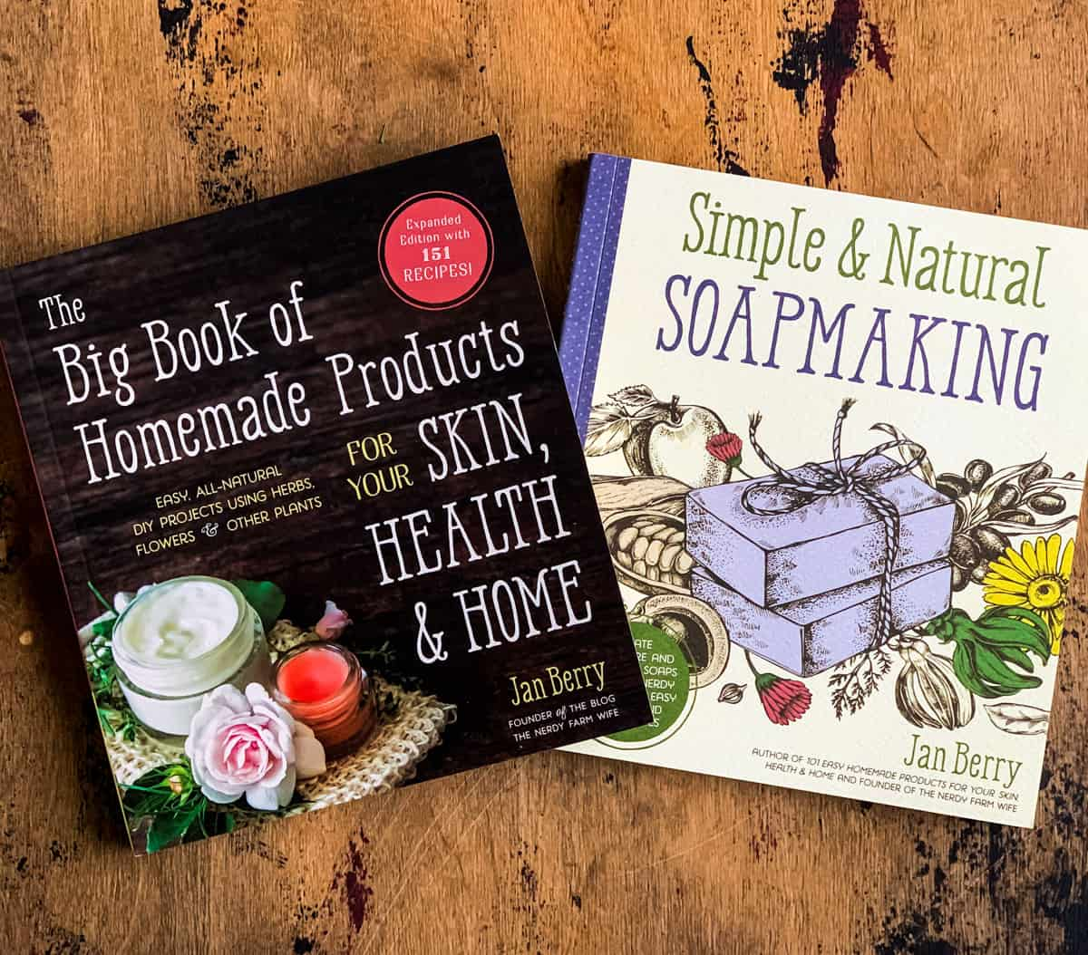 the big book of homemade products and simple and natural soapmaking books